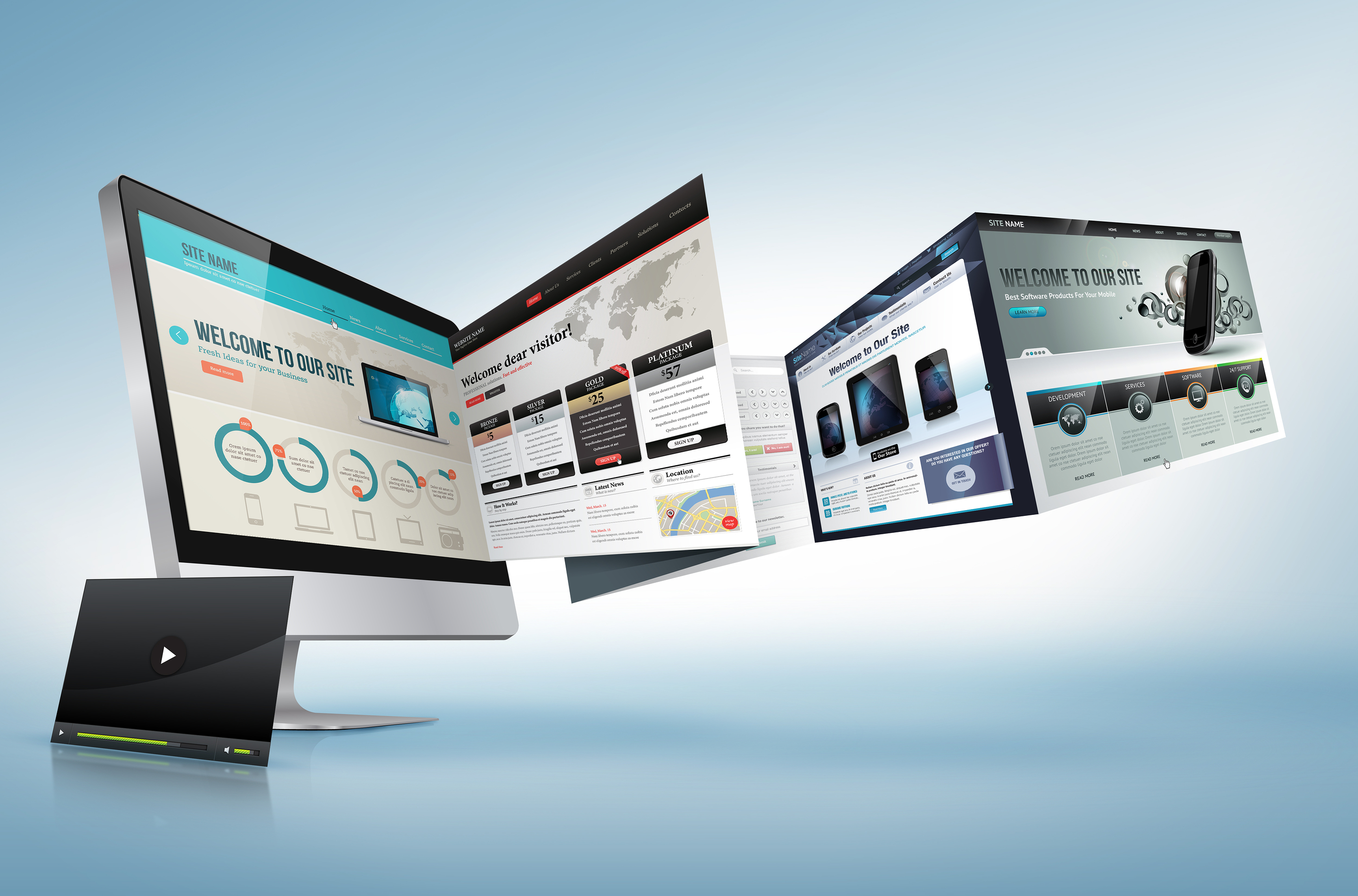 Improve your conversion rate with a professional web design